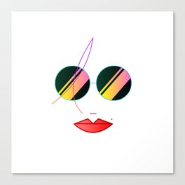 Sexy In Sunnies Canvas Print