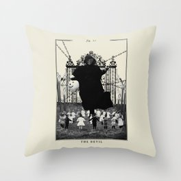 Fig. XV - The Devil Throw Pillow