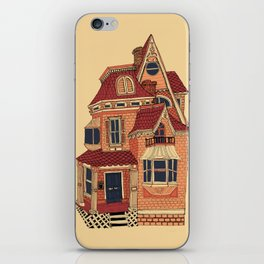 Victorian House iPhone Skin