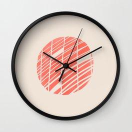 Mesh - by Kara Peters Wall Clock