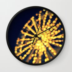 Last Night Wall Clock