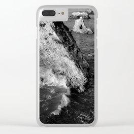 Pismo Beach Surise Clear iPhone Case