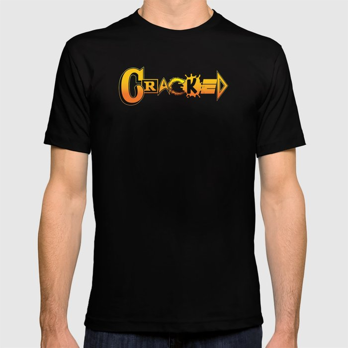 Elements of Cracked T-shirt