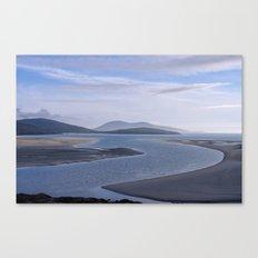 Seaside Blues Canvas Print