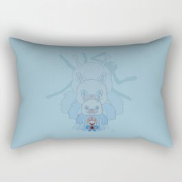 Ant-Bear Rectangular Pillow