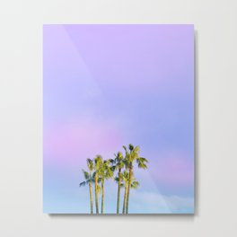 Summer Dreams with Palms Metal Print