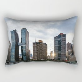 Skyline of Midtown of New York City Rectangular Pillow