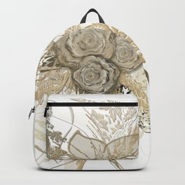 50 shades of lace Gold Backpack