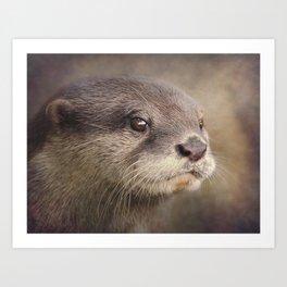 Otterly gorgeous!! Art Print