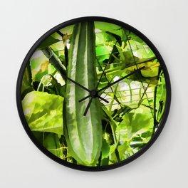 Wax Gourd winter melon Wall Clock