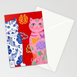 Double Happiness: When Ming Meets Qing Stationery Cards