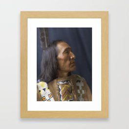 Little Dog - Brulé Lakota Sioux - American Indian Framed Art Print