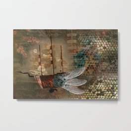 Flying machine Metal Print