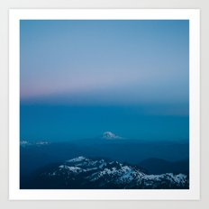 Adams from Rainier Art Print