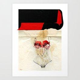 kinkWhy Art Print