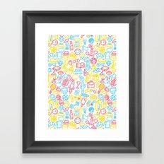 Galore Framed Art Print