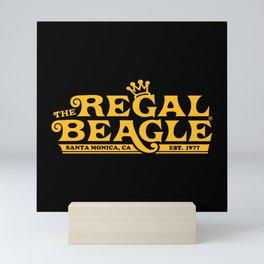 Regal Beagle Mini Art Print