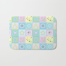 Delicate shades of baby pattern. Bath Mat
