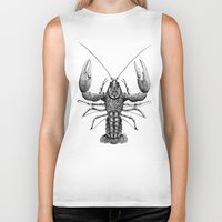 cancer Biker Tanks featuring Cancer by PAgata