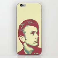james franco iPhone & iPod Skins featuring James by victorygarlic