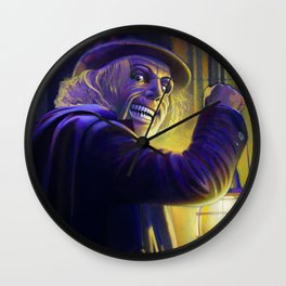 "Lon Chaney from ""London After Midnight"" (1927) Wall Clock"
