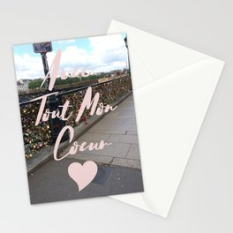 With All My Heart, Paris Stationery Cards