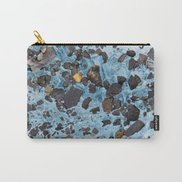 Glacial Gold :: Alaskan Ice Carry-All Pouch