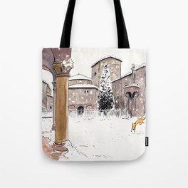 Fox in Bologna Tote Bag