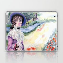 VINTAGE LADY Pop Art Laptop & iPad Skin