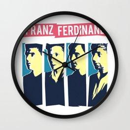Franz Ferdinand Wall Clock