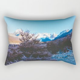 Hiking to Laguna Torre, Patagonia, Argentina Rectangular Pillow