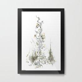 Obelisk Root Metal Print