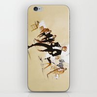 friday iPhone & iPod Skins featuring Friday by Xenia Ericovna