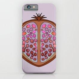 Jewel tone pomegranate  iPhone Case