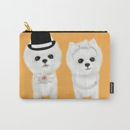 pomeranian couple Carry-All Pouch