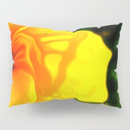 Painted Day Lilly - Yellow Pillow Sham