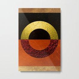 Abstract #112 Metal Print