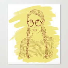 Ms Sunshine Canvas Print