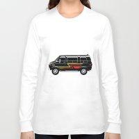 van Long Sleeve T-shirts featuring Classic Van by Eyes Wide Awake