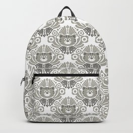 Cat Damask Backpack