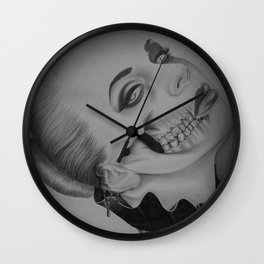 Devines zombies #2 Wall Clock