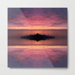 Endless Sunsets Metal Print