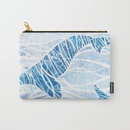 Two Whales Carry-All Pouch