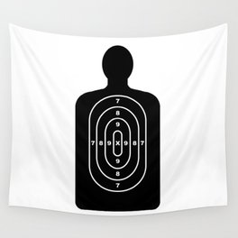 Human Shape Target Wall Tapestry
