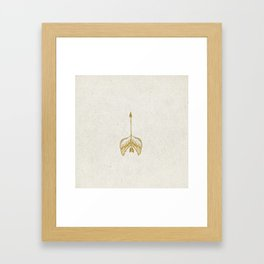 My Arrows Have Wings Framed Art Print