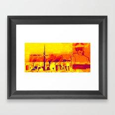 Toronto   Project L0̷SS   Framed Art Print