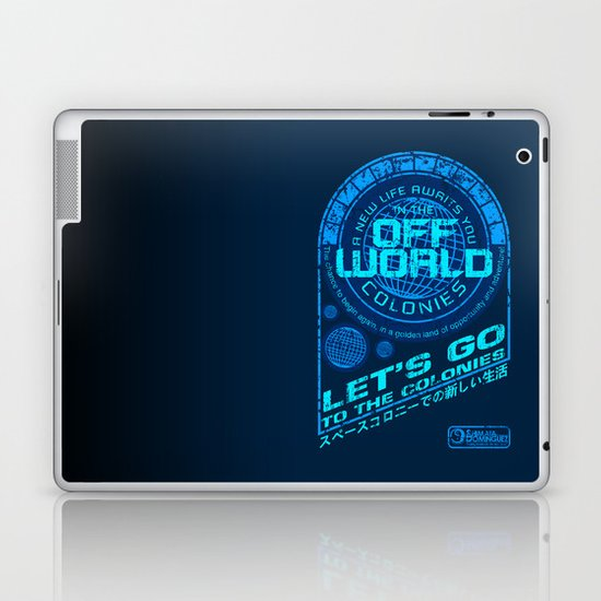 Off World Laptop & iPad Skin