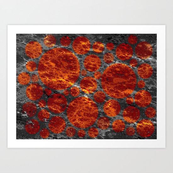 red dwarf region Art Print