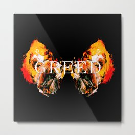 The Seven deadly Sins - GREED Metal Print