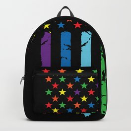 Gay Pride Flag Backpack